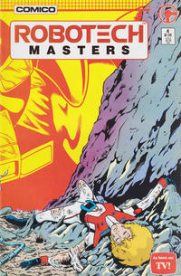 Cover Thumbnail for Robotech Masters (Comico, 1985 series) #4