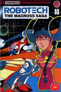Cover Thumbnail for Robotech: The Macross Saga (Comico, 1985 series) #8