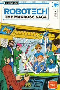 Cover Thumbnail for Robotech: The Macross Saga (Comico, 1985 series) #24