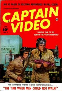 Cover Thumbnail for Captain Video (Fawcett, 1951 series) #2