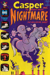 Cover Thumbnail for Casper & Nightmare (Harvey, 1964 series) #19