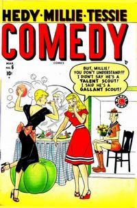 Cover Thumbnail for Comedy Comics (Marvel, 1948 series) #6