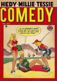 Cover Thumbnail for Comedy Comics (Marvel, 1948 series) #7