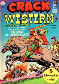 Cover Thumbnail for Crack Western (Quality Comics, 1949 series) #69