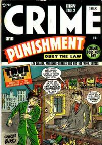 Cover Thumbnail for Crime and Punishment (Lev Gleason, 1948 series) #2