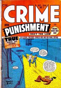 Cover Thumbnail for Crime and Punishment (Lev Gleason, 1948 series) #7