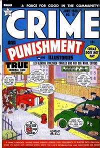 Cover Thumbnail for Crime and Punishment (Lev Gleason, 1948 series) #15