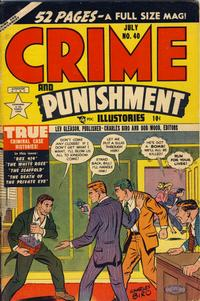 Cover Thumbnail for Crime and Punishment (Lev Gleason, 1948 series) #40