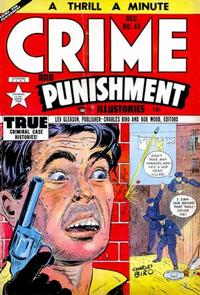 Cover for Crime and Punishment (Lev Gleason, 1948 series) #45