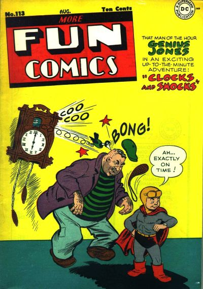 Cover for More Fun Comics (DC, 1936 series) #113
