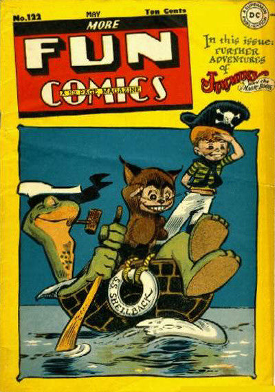 Cover for More Fun Comics (1936 series) #122