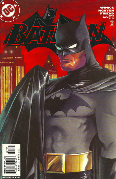 Cover for Batman (DC, 1940 series) #627
