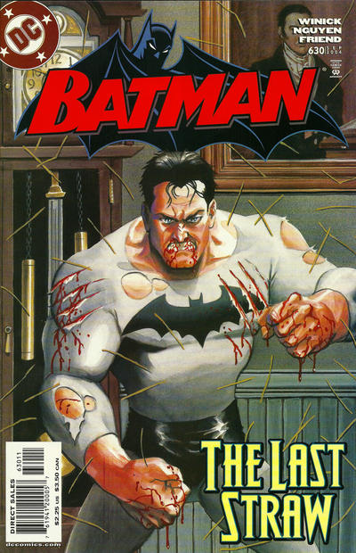 Cover for Batman (DC, 1940 series) #630