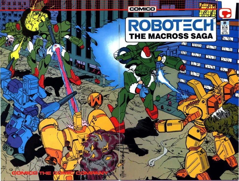 Cover for Robotech: The Macross Saga (Comico, 1985 series) #31