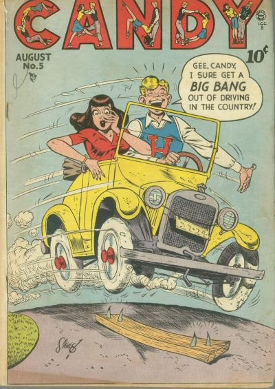 Cover for Candy (Quality Comics, 1947 series) #5