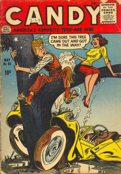 Cover for Candy (Quality Comics, 1947 series) #63