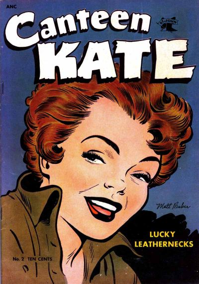 Cover for Canteen Kate (St. John, 1952 series) #2