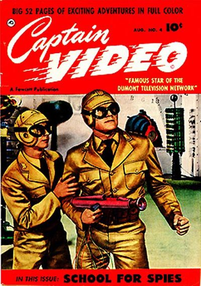 Cover for Captain Video (Fawcett, 1951 series) #4