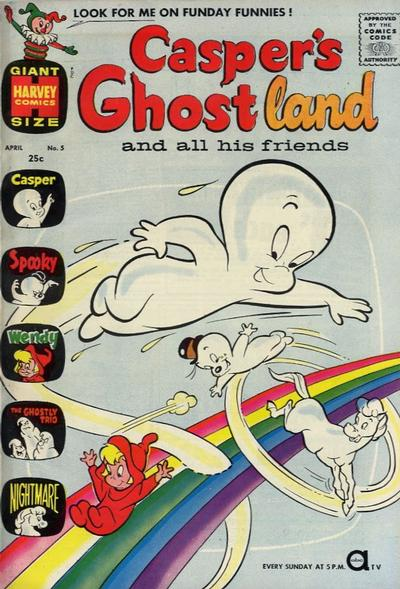 Cover for Casper's Ghostland (Harvey, 1959 series) #5
