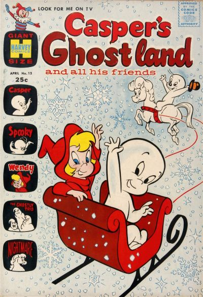 Cover for Casper's Ghostland (Harvey, 1959 series) #13