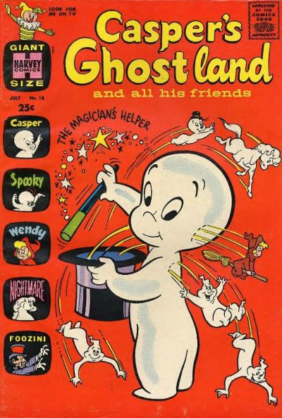 Cover for Casper's Ghostland (Harvey, 1959 series) #18