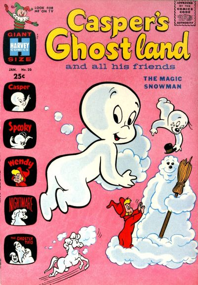 Cover for Casper&#39;s Ghostland (1959 series) #20