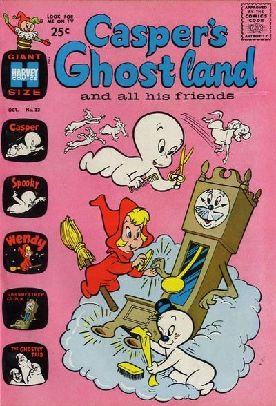 Cover for Casper's Ghostland (Harvey, 1959 series) #23