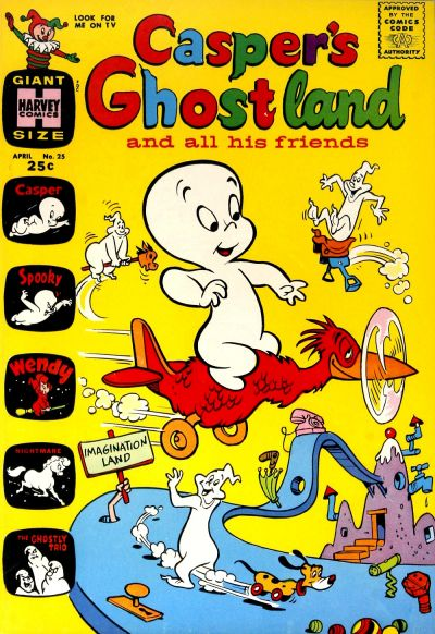 Cover for Casper&#39;s Ghostland (1959 series) #25