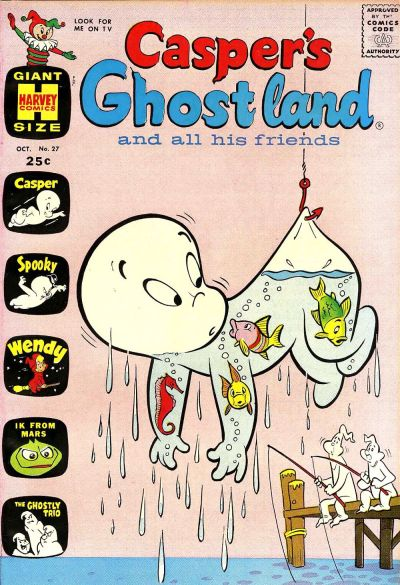 Cover for Casper's Ghostland (Harvey, 1959 series) #27