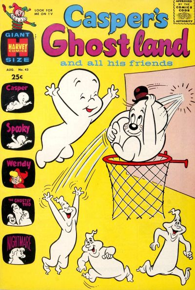 Cover for Casper's Ghostland (Harvey, 1959 series) #43
