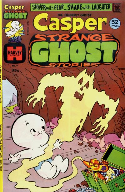 Cover for Casper Strange Ghost Stories (Harvey, 1974 series) #9