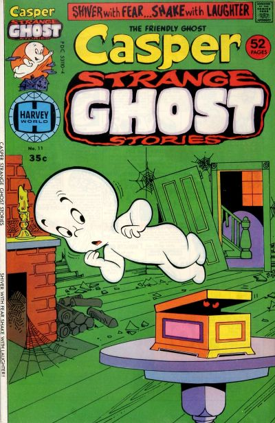 Cover for Casper Strange Ghost Stories (Harvey, 1974 series) #11