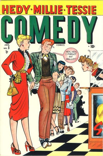 Cover for Comedy Comics (Marvel, 1948 series) #5
