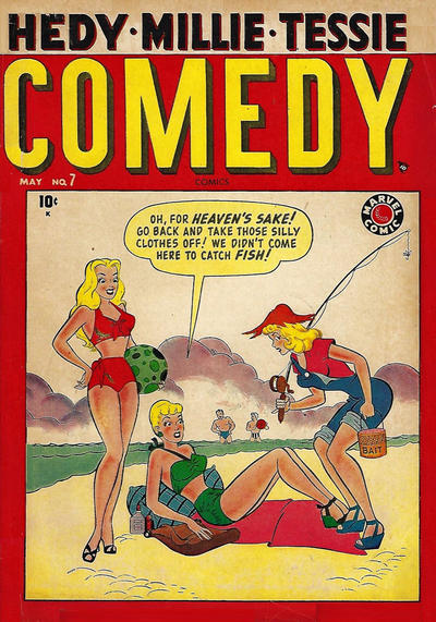 Cover for Comedy Comics (Marvel, 1948 series) #7