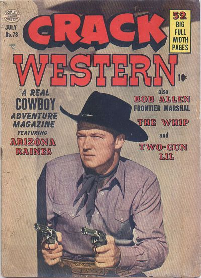 Cover for Crack Western (Quality Comics, 1949 series) #73