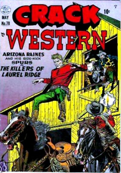 Cover for Crack Western (Quality Comics, 1949 series) #78