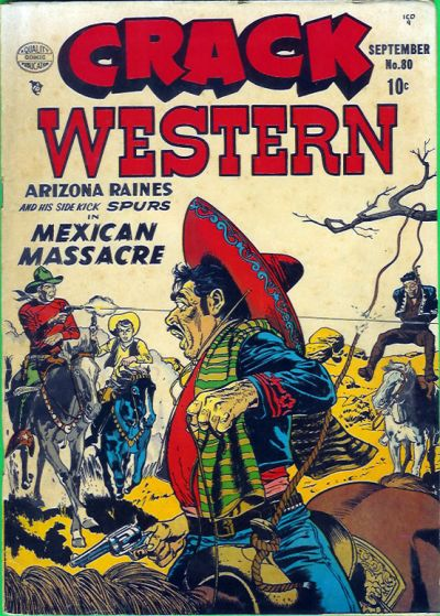 Cover for Crack Western (Quality Comics, 1949 series) #80