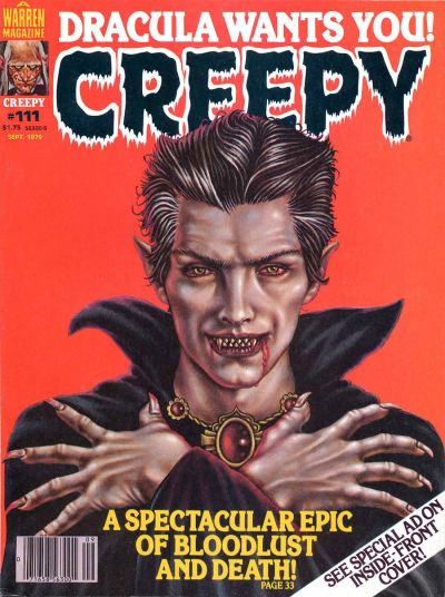 Cover for Creepy (Warren, 1964 series) #111
