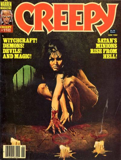 Cover for Creepy (Warren, 1964 series) #118