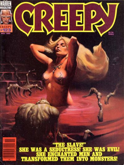 Cover for Creepy (Warren, 1964 series) #123