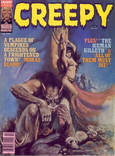 Cover for Creepy (Warren, 1964 series) #145