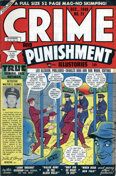 Cover for Crime and Punishment (1948 series) #21