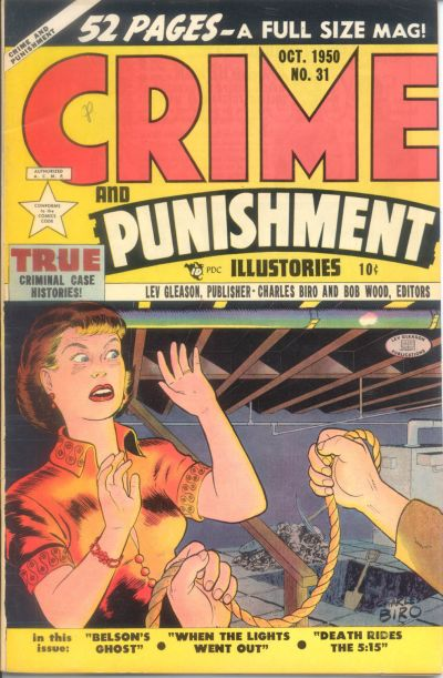 Cover for Crime and Punishment (Lev Gleason, 1948 series) #31