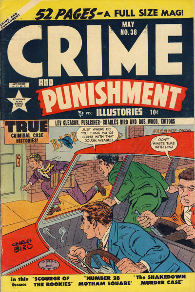 Cover for Crime and Punishment (Lev Gleason, 1948 series) #38