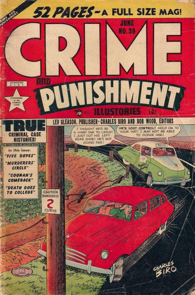 Cover for Crime and Punishment (1948 series) #39