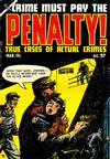 Cover for Crime Must Pay the Penalty (Ace Magazines, 1948 series) #37