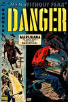 Cover for Danger (Comic Media, 1953 series) #4