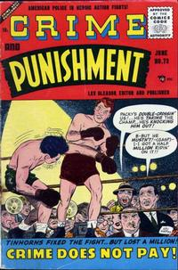 Cover Thumbnail for Crime and Punishment (Lev Gleason, 1948 series) #73