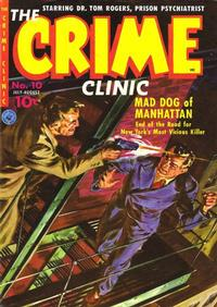 Cover Thumbnail for Crime Clinic (Ziff-Davis, 1951 series) #10 [1]