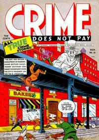 Cover Thumbnail for Crime Does Not Pay (Lev Gleason, 1942 series) #30